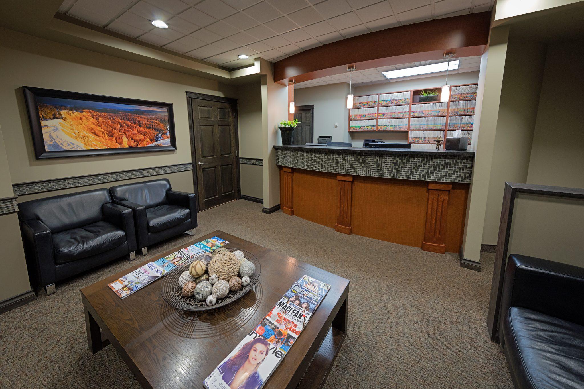 Reflections Dental Centre Kelowna Reception Area 4