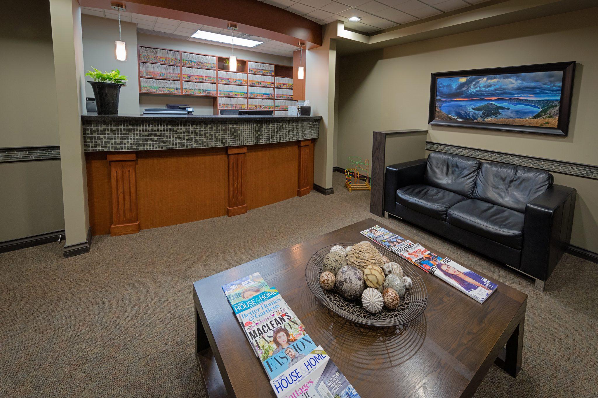 Reflections Dental Centre Kelowna Reception Area 5